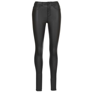 vaatteet Naiset 5-taskuiset housut Only ONLROYAL Black