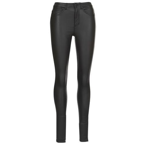 vaatteet Naiset Slim-farkut Only ONLROYAL Black