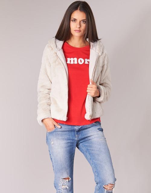 vaatteet Naiset Pusakka Only ONLCHRIS Beige