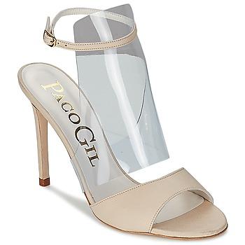 kengät Naiset Sandaalit ja avokkaat Paco Gil LUISE ECRU