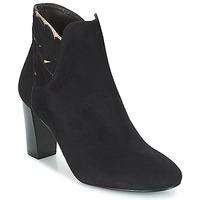 kengät Naiset Nilkkurit Bocage EMMANUEL Black