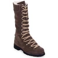 kengät Naiset Bootsit Swamp STIVALE LACCI MONTONE Brown / Fonce