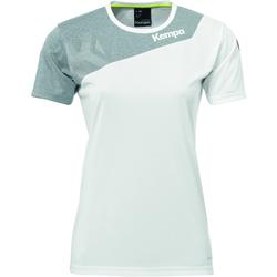 vaatteet Naiset Lyhythihainen t-paita Kempa Maillot femme  Core 2.0 blanc/gris