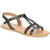 kengät Naiset Sandaalit ja avokkaat So Size DURAN Black