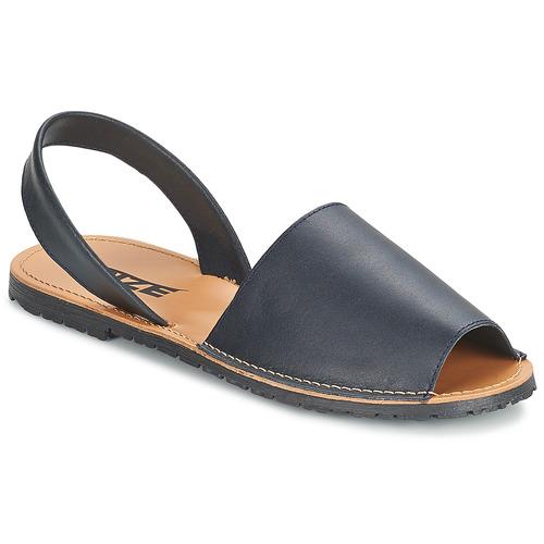 kengät Naiset Sandaalit ja avokkaat So Size LOJA Laivastonsininen