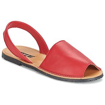 kengät Naiset Sandaalit ja avokkaat So Size LOJA Red