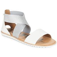 kengät Naiset Sandaalit ja avokkaat Sorel ELLA SANDAL Valkoinen