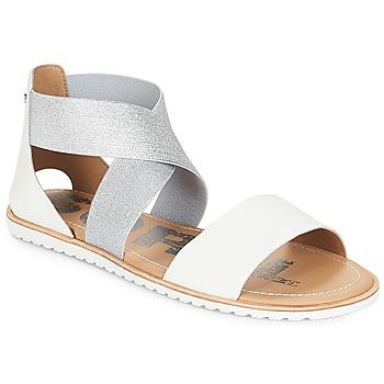 kengät Naiset Sandaalit ja avokkaat Sorel ELLA™ SANDAL Valkoinen