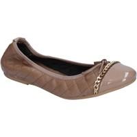 kengät Naiset Balleriinat Crown ballerine beige pelle BX639 Beige