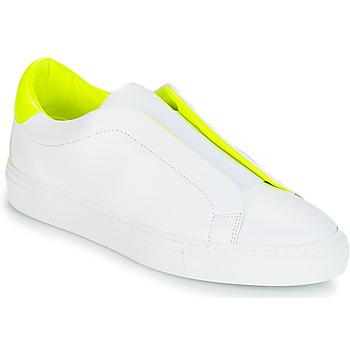 kengät Naiset Matalavartiset tennarit KLOM KISS White / Yellow
