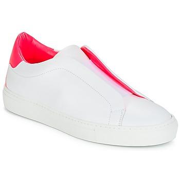 kengät Naiset Matalavartiset tennarit KLOM KISS White / Pink