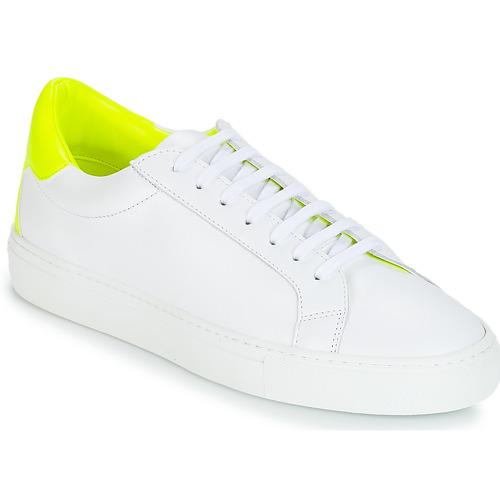kengät Naiset Matalavartiset tennarit KLOM KEEP White / Yellow