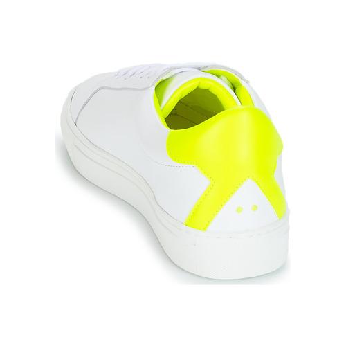 Klom Keep White / Yellow - Ilmainen Toimitus- Kengät Matalavartiset Tennarit Naiset 109