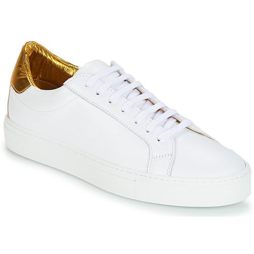 kengät Naiset Matalavartiset tennarit KLOM KEEP White / Kulta