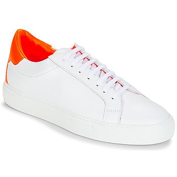 kengät Naiset Matalavartiset tennarit KLOM KEEP Valkoinen / Oranssi