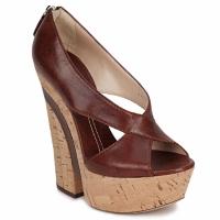 kengät Naiset Sandaalit ja avokkaat Casadei ELEANORE Kastanja