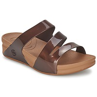 kengät Naiset Sandaalit FitFlop SUPERJELLY™ TWIST Brown