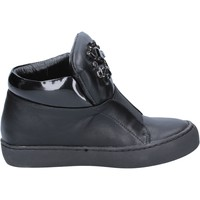 kengät Naiset Nilkkurit Sara Lopez sneakers nero pelle BX704 Nero