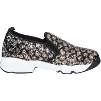 kengät Naiset Tennarit J. K. Acid slip on bronze paillettes nero BX746 Nero