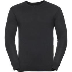 vaatteet Miehet Neulepusero Russell 710M Black