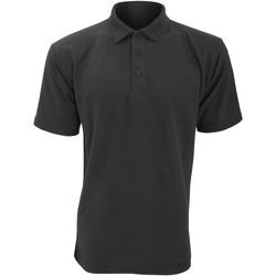 vaatteet Miehet Lyhythihainen poolopaita Ultimate Clothing Collection UCC003 Black
