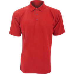 vaatteet Miehet Lyhythihainen poolopaita Ultimate Clothing Collection UCC003 Red