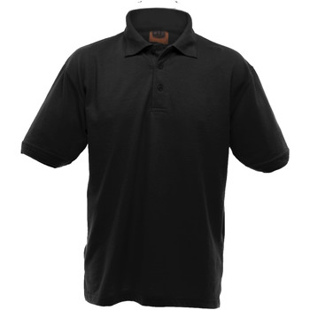 vaatteet Miehet Lyhythihainen poolopaita Ultimate Clothing Collection UCC004 Black