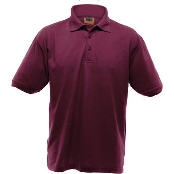 vaatteet Miehet Lyhythihainen poolopaita Ultimate Clothing Collection UCC004 Burgundy