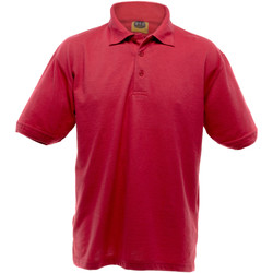 vaatteet Miehet Lyhythihainen poolopaita Ultimate Clothing Collection UCC004 Red