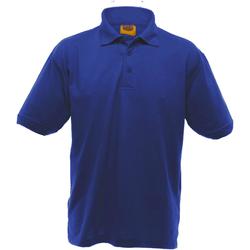 vaatteet Miehet Lyhythihainen poolopaita Ultimate Clothing Collection UCC004 Royal