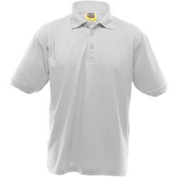 vaatteet Miehet Lyhythihainen poolopaita Ultimate Clothing Collection UCC004 White