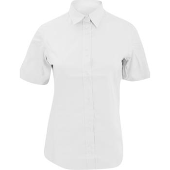 vaatteet Naiset Lyhythihainen poolopaita Kustom Kit KK387 White