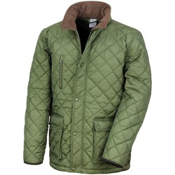 vaatteet Miehet Toppatakki Result R196X Olive