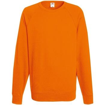 vaatteet Miehet Svetari Fruit Of The Loom 62138 Orange