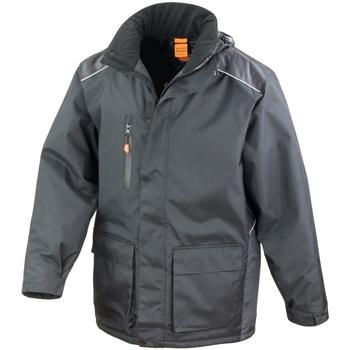 vaatteet Miehet Tuulitakit Result R305X Black