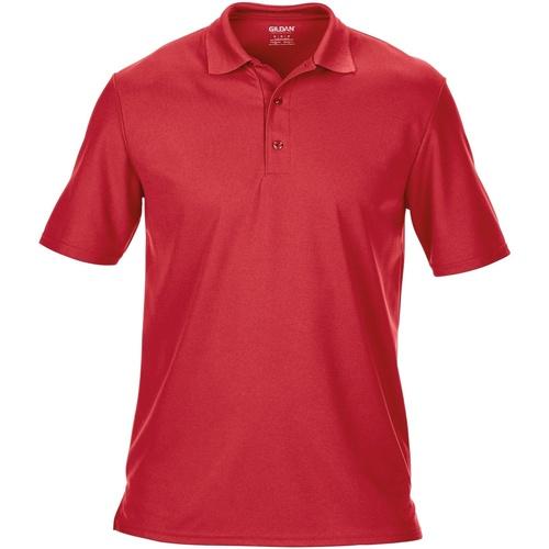 vaatteet Miehet Lyhythihainen poolopaita Gildan 43800 Red