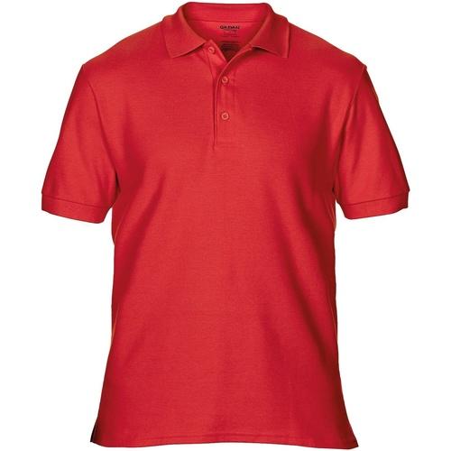 vaatteet Miehet Lyhythihainen poolopaita Gildan Premium Red