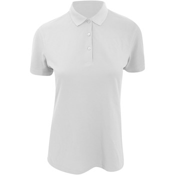 vaatteet Naiset Lyhythihainen poolopaita Kustom Kit KK213 White