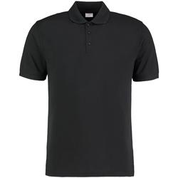 vaatteet Miehet Lyhythihainen poolopaita Kustom Kit KK413 Black