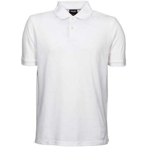 vaatteet Miehet Lyhythihainen poolopaita Tee Jays TJ1400 White