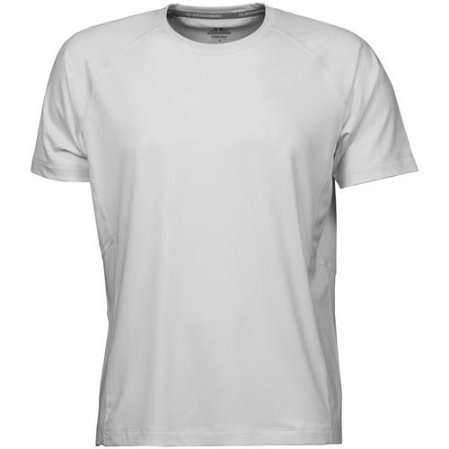 vaatteet Miehet Lyhythihainen t-paita Tee Jays TJ7020 White