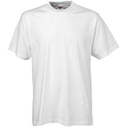 vaatteet Miehet Lyhythihainen t-paita Tee Jays TJ8000 White