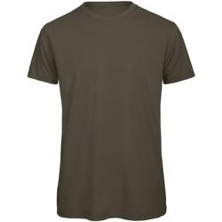 vaatteet Miehet Lyhythihainen t-paita B And C TM042 Khaki