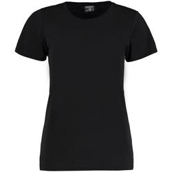 vaatteet Naiset Lyhythihainen t-paita Kustom Kit Superwash Black