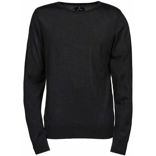vaatteet Miehet Neulepusero Tee Jays TJ6000 Black