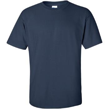 vaatteet Miehet Lyhythihainen t-paita Gildan Ultra Navy