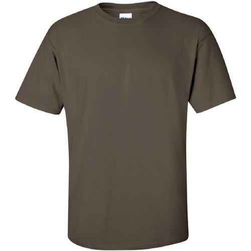 vaatteet Miehet Lyhythihainen t-paita Gildan Ultra Olive