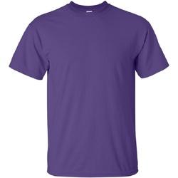 vaatteet Miehet Lyhythihainen t-paita Gildan Ultra Purple