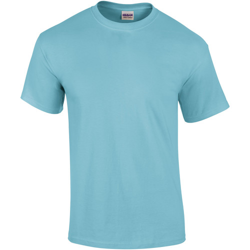 vaatteet Miehet Lyhythihainen t-paita Gildan Ultra Sky