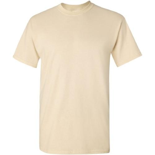 vaatteet Miehet Lyhythihainen t-paita Gildan Ultra Natural